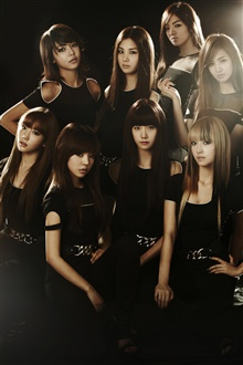 Girls Generation 01 iPhone Wallpaper Preview