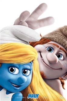 Smurfs 2 постер iPhone Wallpaper Preview