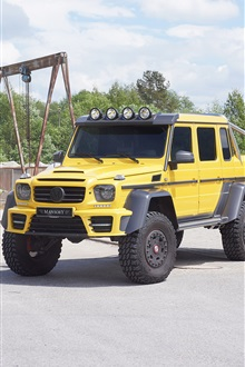 2 015 Mercedes-Benz G63 AMG 6x6 пикап iPhone Wallpaper Preview