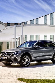 2 015 Mercedes-Benz GLC 350 автомобилей iPhone Wallpaper Preview