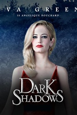 Ева Грин в Dark Shadows iPhone обои