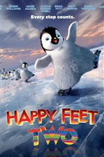 Happy Feet Two мультфильм iPhone обои