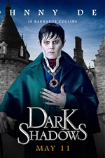 Джонни Депп в Dark Shadows iPhone обои