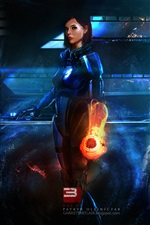 РПГ Mass Effect 3 iPhone обои