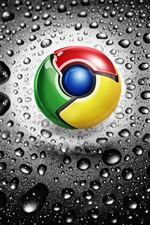 Google Chrome логотип iPhone обои